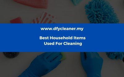 Best Household Items Used For Cleaning