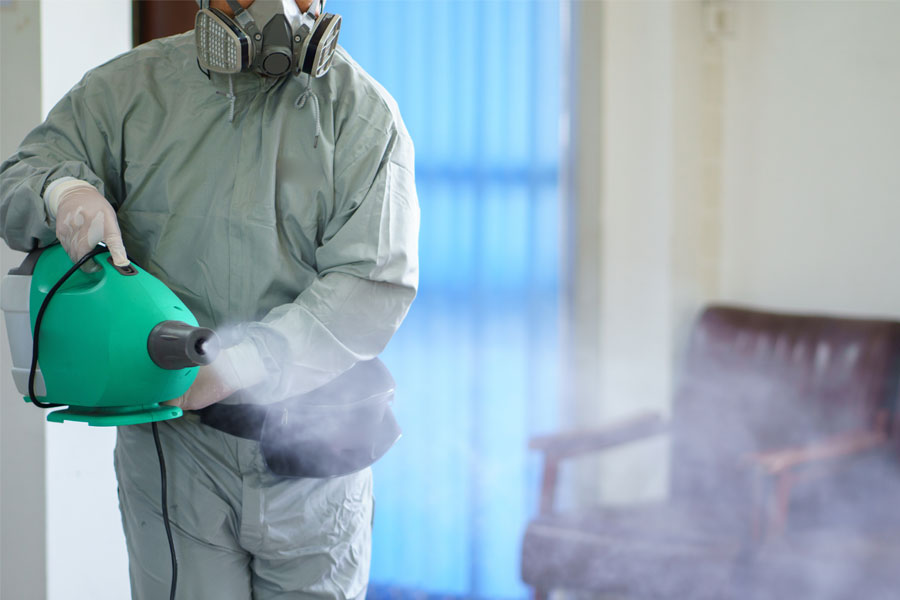Disinfecting By Fogging