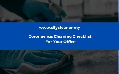 Coronavirus Cleaning Checklist for Your Office