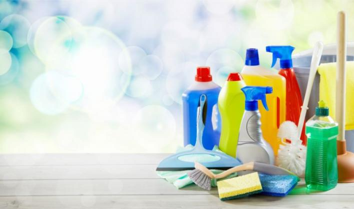 purchasing cleaning products